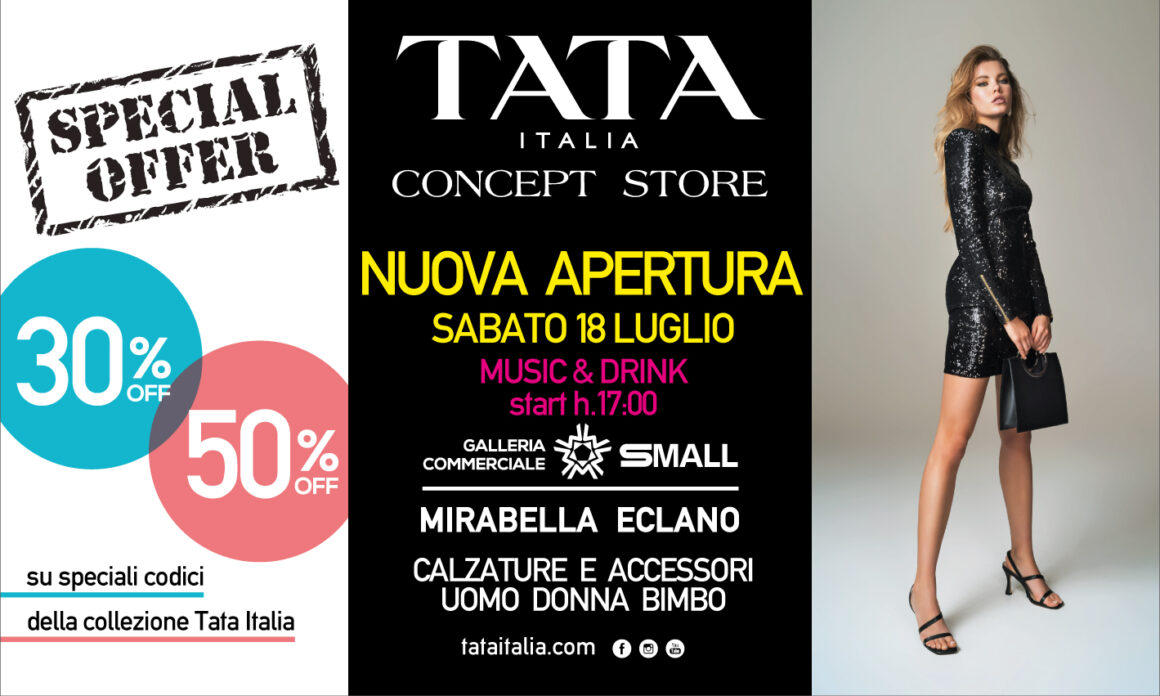 APERTURA TATA ITALIA!